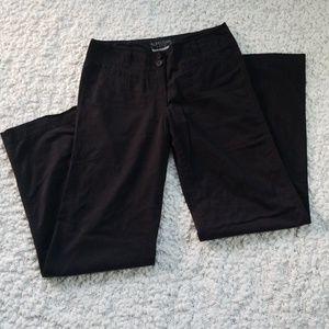 Manhattan chino wide leg pants